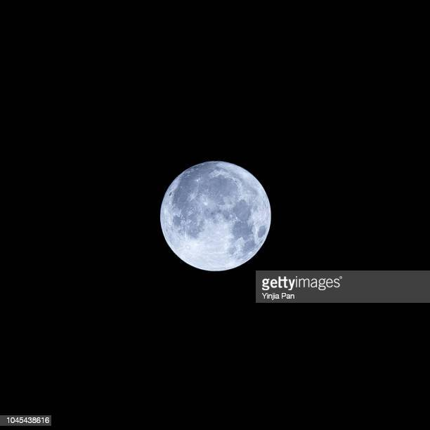 moon in mid autumn festival in shanghai china - moon stock pictures, royalty-free photos & images