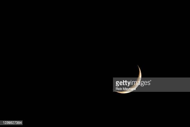 moon in the night - sleeping stock pictures, royalty-free photos & images