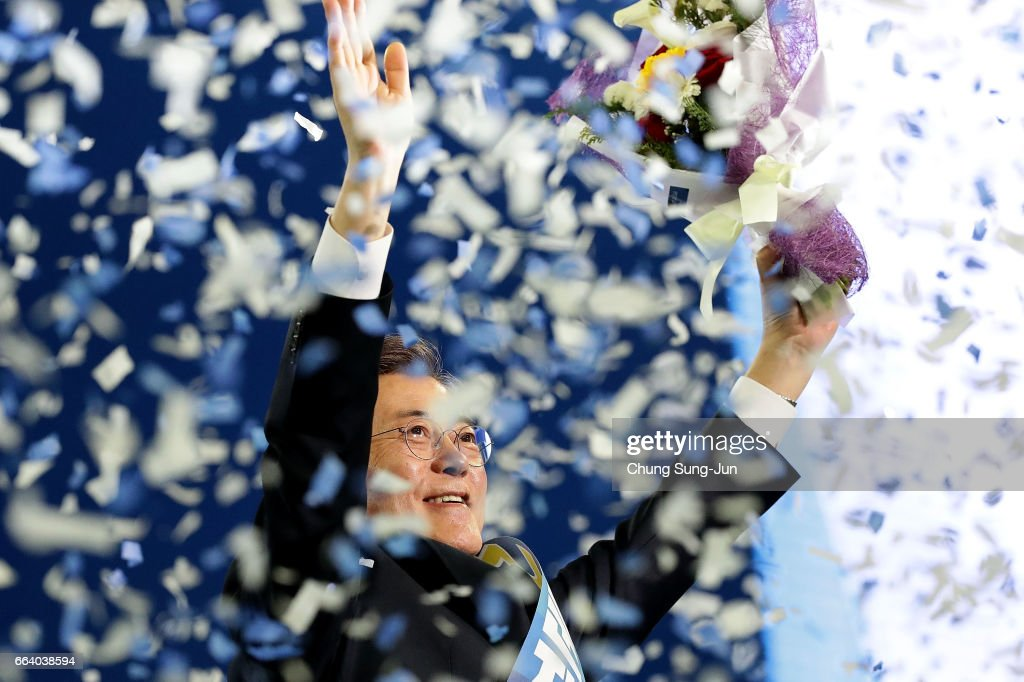Democratic Party of Korea Names Moon Jae-In As Presidential Candidate
