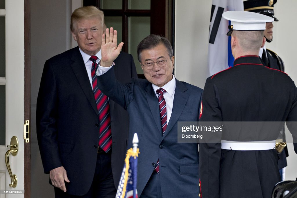 President Trump Hosts South Korean President Moon Jae-in At The White House