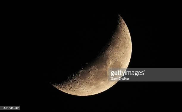 moon - semicírculo - fotografias e filmes do acervo