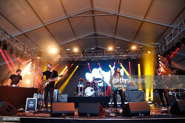 Moon Taxi perform during the 2016 Hangout Music Festival Kickoff Party on May 19 2016 in Gulf Shores Alabama