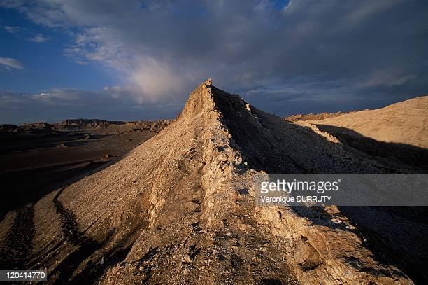 Moon valley near San Pedo De Atacama in Atacama desert Chile Caliente