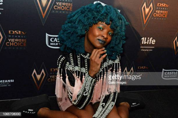 Moonchild Sanelly during the DStv Mzansi Viewer's Choice Awards event at the Sandton Convention Centre on November 24 2018 in Sandton South Africa...