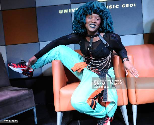 Moonchild sanelly during the Music Is King media launch held at the Universal Studios on October 02 2019 in Johannesburg South Africa The music...