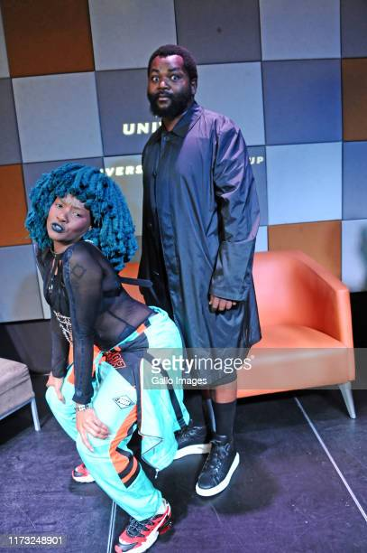 Moonchild Sanelly Sjava during the Music Is King media launch held at the Universal Studios on October 02 2019 in Johannesburg South Africa The music...
