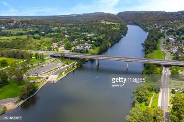 mooney mooney bridge, nsw, australia - penrith fotografías e imágenes de stock