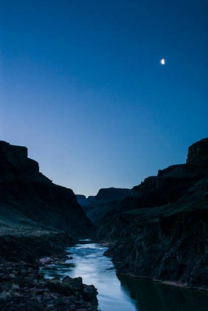 Moonligh over the Colorado River