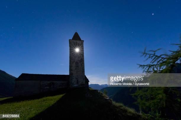 Moonlight, San Romerio Alp, Switzerland