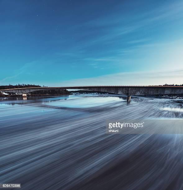 Moonlit Ice Floes