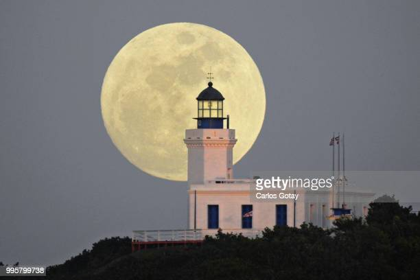 Moonrise at Lighthouse