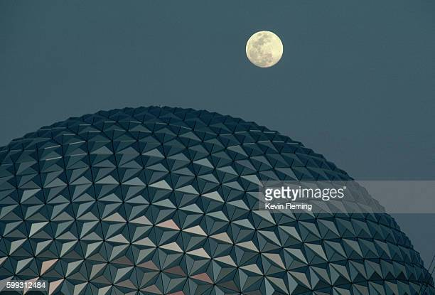 Moonrise Over EPCOT Center