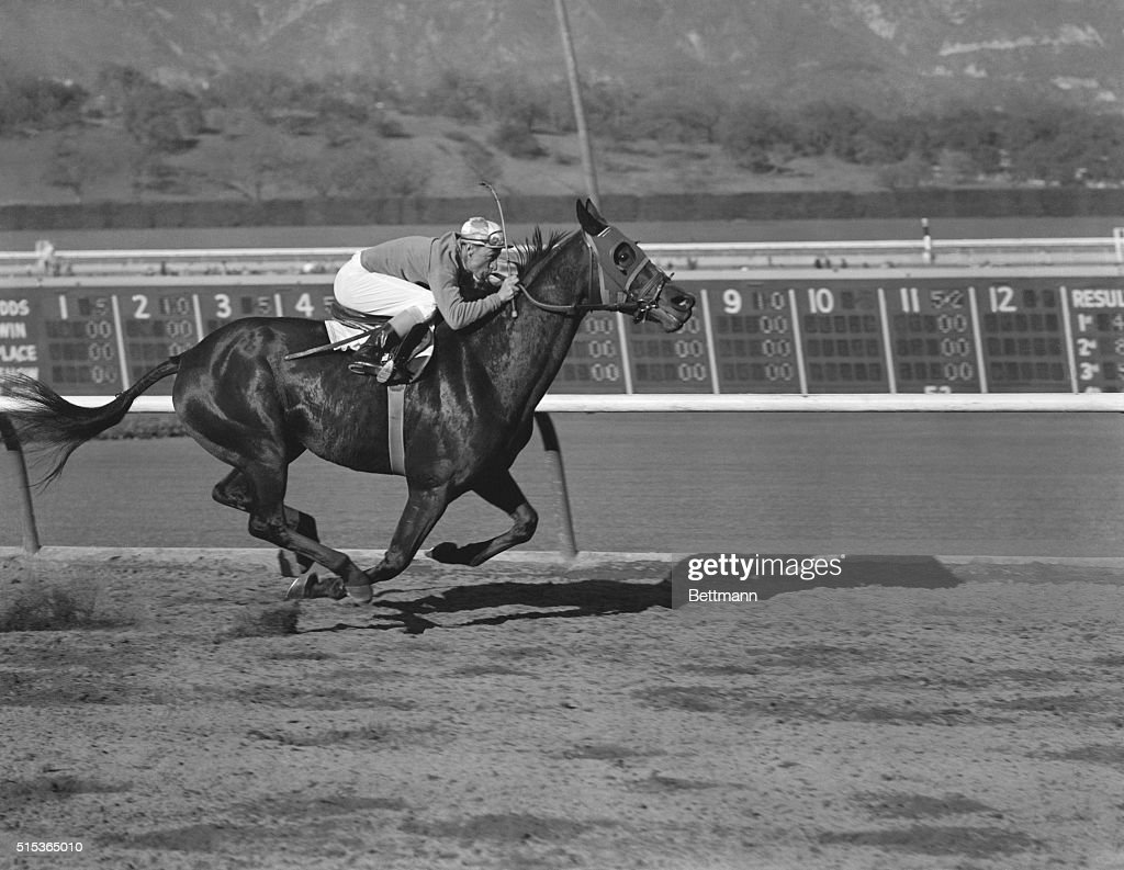 Moonrush Winner Of The 1951 100 000 Santa Anita Handicap