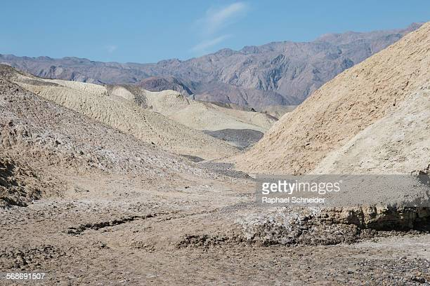 Moonscape in Death Valley, USA