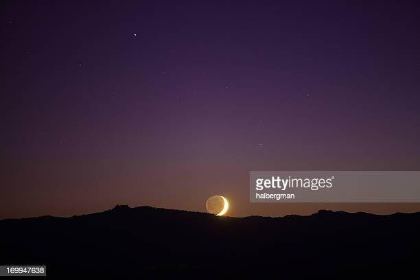 Moonset at Lake Tahoe