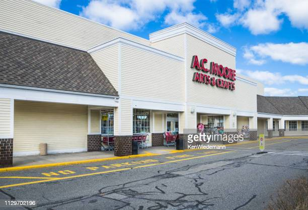 a.c. moore facade - a.c. moore stock photos and pictures