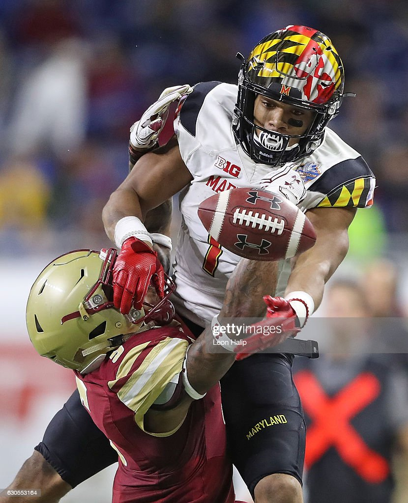 Quick Lane Bowl - Boston College v Maryland
