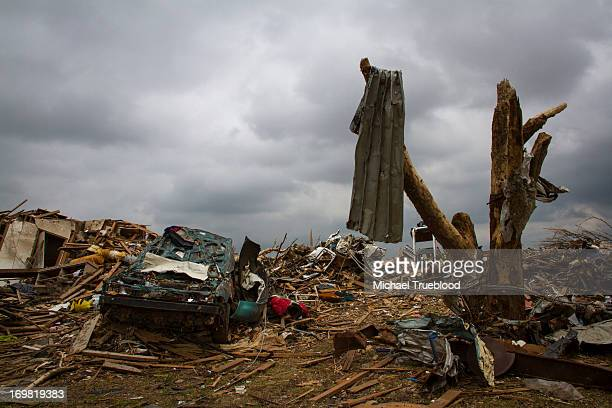CONTENT] Moore Oklahoma tries to recover after being hit by an EF5 tornado on May 20 2013