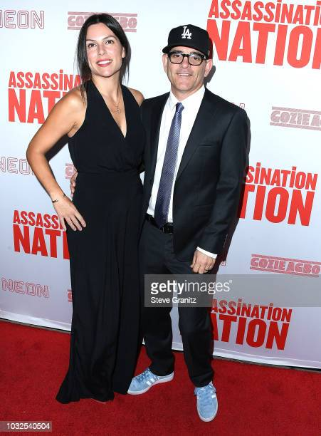 "Moore;Ann Moore arrives at the Premiere Of Neon And Refinery29's ""Assassination Nation"" at ArcLight Hollywood on September 12, 2018 in Hollywood,..."