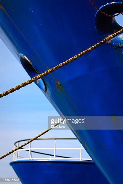 Vertäut Schiffe