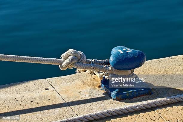 Mooring in the Port of San Antonio (Ibiza)