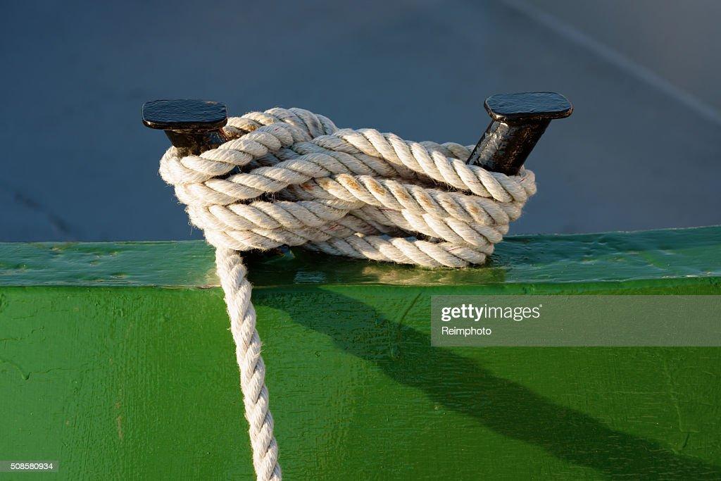 Mooring rope : Stockfoto