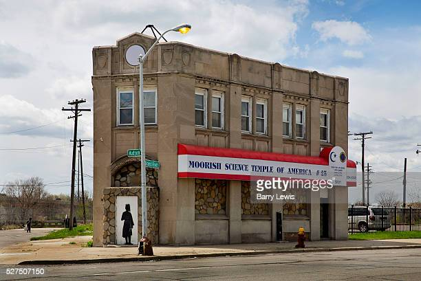 Moorish science temple on Grand River Boulevard Detroit Known as the world's traditional automotive center Detroit is a metonym for the American...