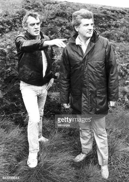 Moors Murders Chief Prosecution Witness David Smith brother in Law of Ian Brady returns to the moors with a reporter pointing out to where the...