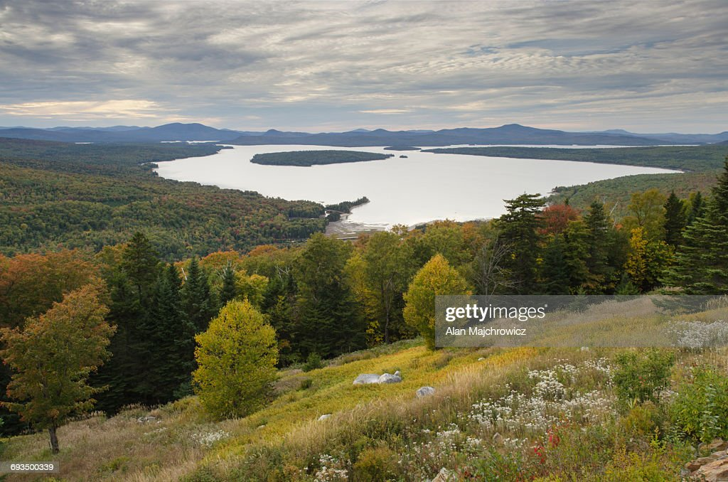 Mooselookmeguntic Lake Maine : Stock Photo
