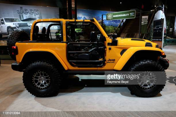 Mopar Modified Jeep Nacho is on display at the 111th Annual Chicago Auto Show at McCormick Place in Chicago Illinois on February 8 2019