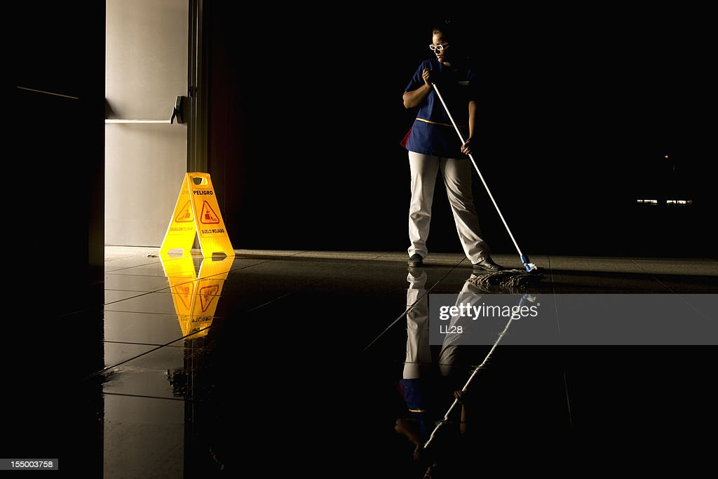 Mopping : Stock Photo