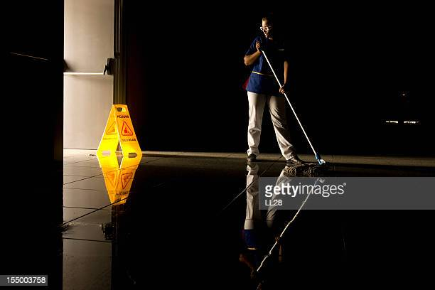 mopping - commercial cleaning stock photos and pictures