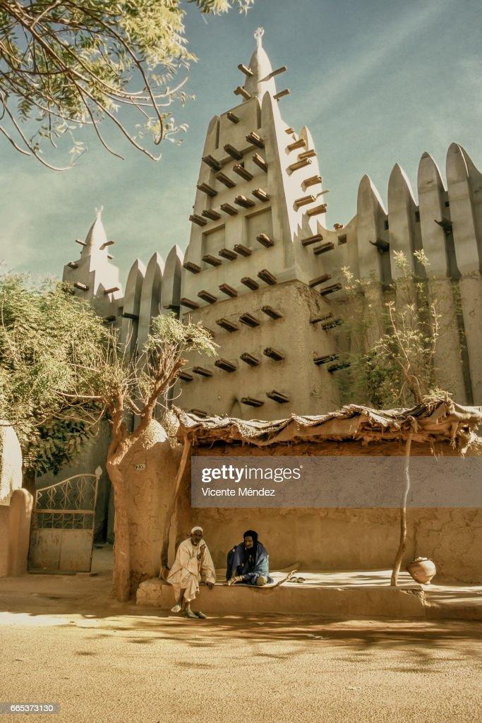 Mopti Mosque (Mali) : ストックフォト
