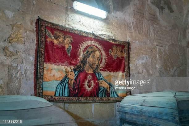 Mor Hananyo  Monastery interior in Mardin