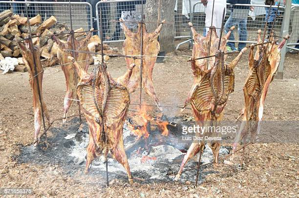 Moraña's Festivities of the lamb roasted on a spit