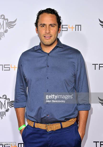 Morad Fareed cofounder of Delos and iamangel Foundation Advisory Board Member attends the william hosted third annual TRANS4M concert benefitting the...