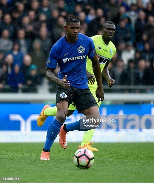 Moraes Ferreira Da Silva Wesley forward of Club Brugge pictured during Jupiler Pro League match between Club Brugge KV and KAA Gent on OCTOBER2 2016...