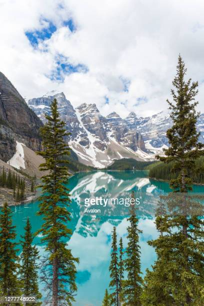 Moraine Lake and The Valley of the Ten Peaks. Banff National Park. Alberta. Canada.