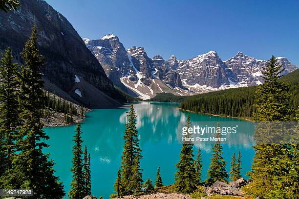 Moraine, Lake, Banff Nationalpark, Alberta