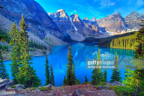 Moraine Lake, Banff, Rocky Mountain, Canada