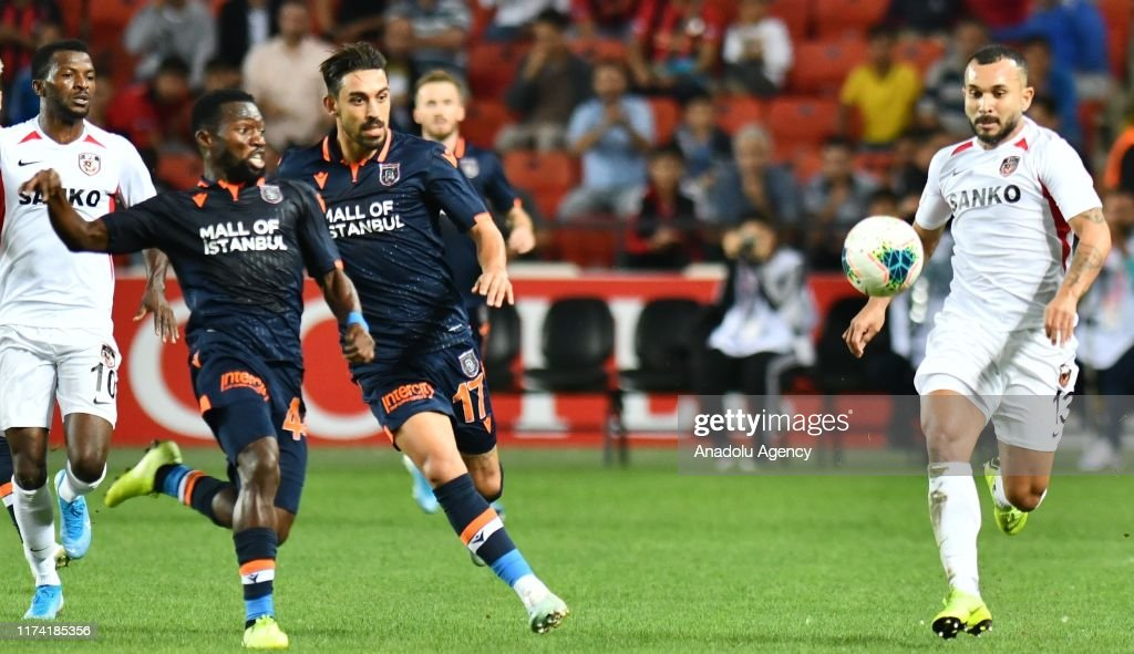 Morais Of Gaziantep Fk In Action During Turkish Super Lig Soccer News Photo Getty Images