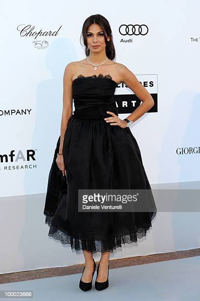 Moran Atias arrives at amfAR's Cinema Against AIDS 2010 benefit gala at the Hotel du Cap on May 20 2010 in Antibes France