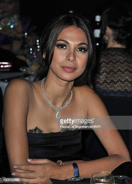 Moran Atias attends amfAR's Cinema Against AIDS 2010 benefit gala dinner at the Hotel du Cap on May 20 2010 in Antibes France