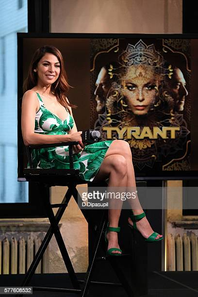 Moran Atias attends the AOL Build Speaker Series to discuss her new role on 'Tyrant' at AOL HQ on July 19 2016 in New York City