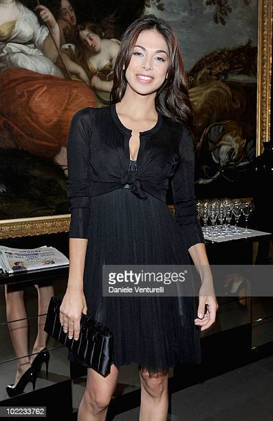 Moran Atias attends the Dolce Gabbana VIP Room prior to the Dolce Gabbana Milan Menswear Spring/Summer 2011 show on June 19 2010 in Milan Italy