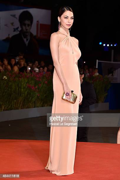 Moran Atias attends 'The Humbling' premiere during the 71st Venice Film Festival on August 30 2014 in Venice Italy
