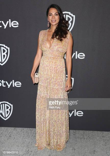 Moran Atias attends the InStyle And Warner Bros. Golden Globes After Party 2019 at The Beverly Hilton Hotel on January 6, 2019 in Beverly Hills,...
