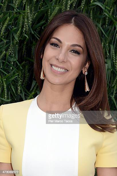 Moran Atias attends the opening ceremony of the pavilion of Israel during the Expo 2015 at Fiera Milano Rho on May 12 2015 in Milan Italy
