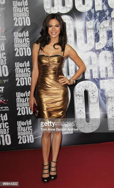 Moran Atias attends the World Music Awards 2010 at the Sporting Club on May 18, 2010 in Monte Carlo, Monaco.