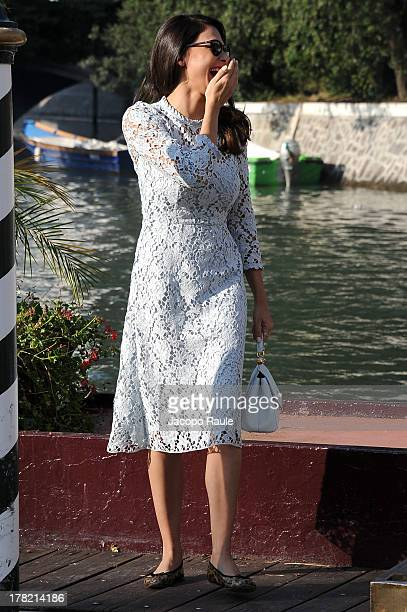 Moran Atlas is seen during the 70th Venice International Film Festival on August 27 2013 in Venice Italy